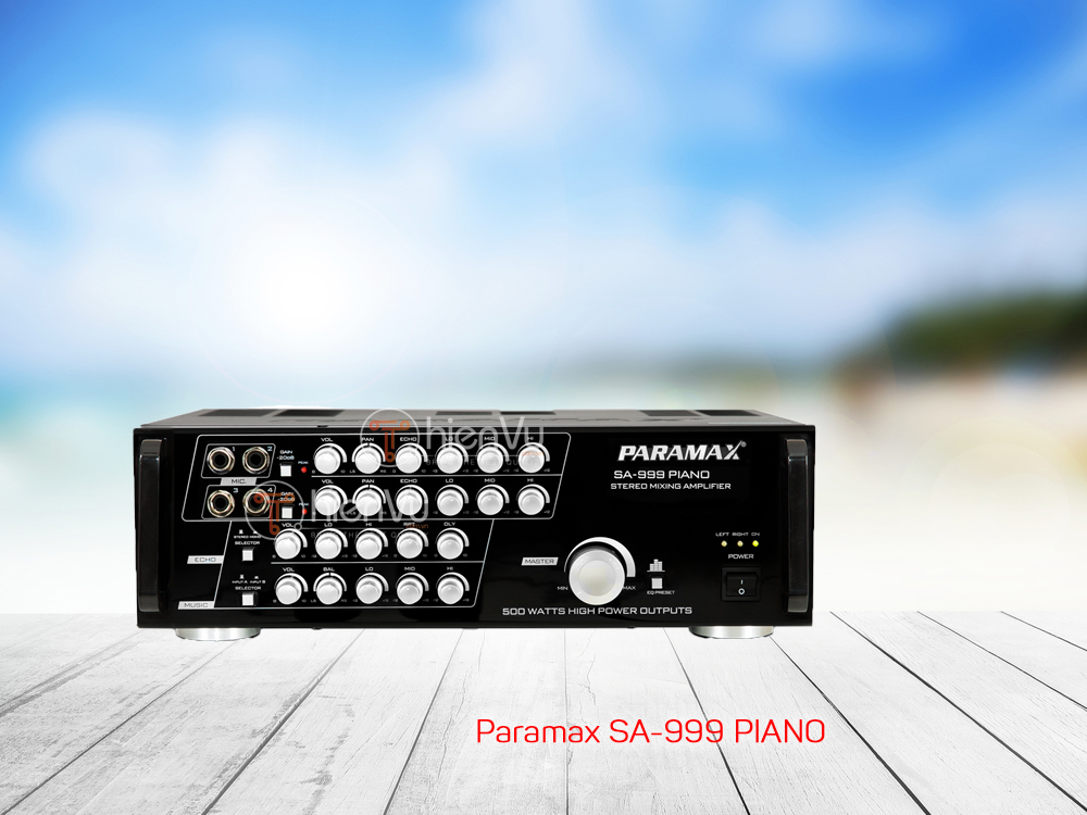 Amply paramax SA 999 Piano new 2018