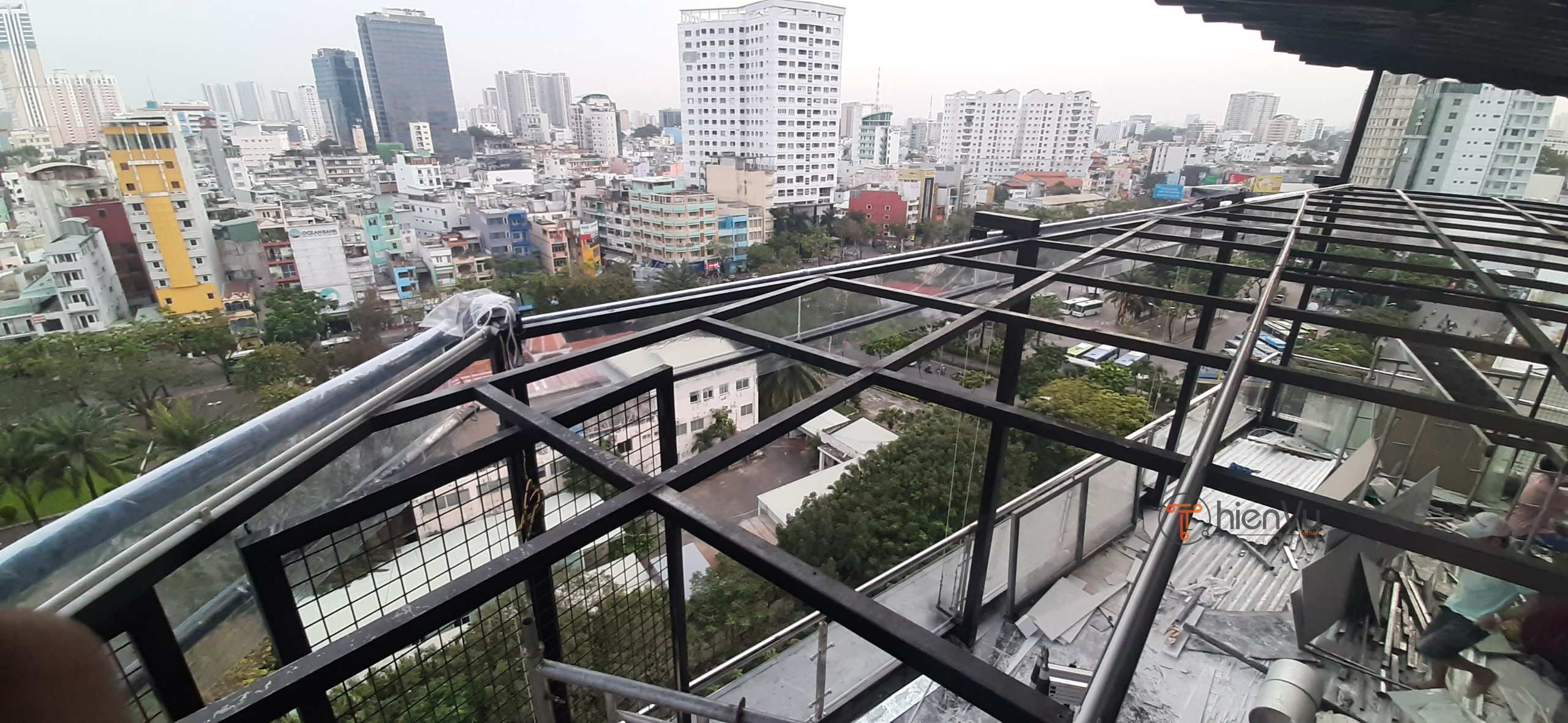 cong trinh lap dat am thanh rooftop