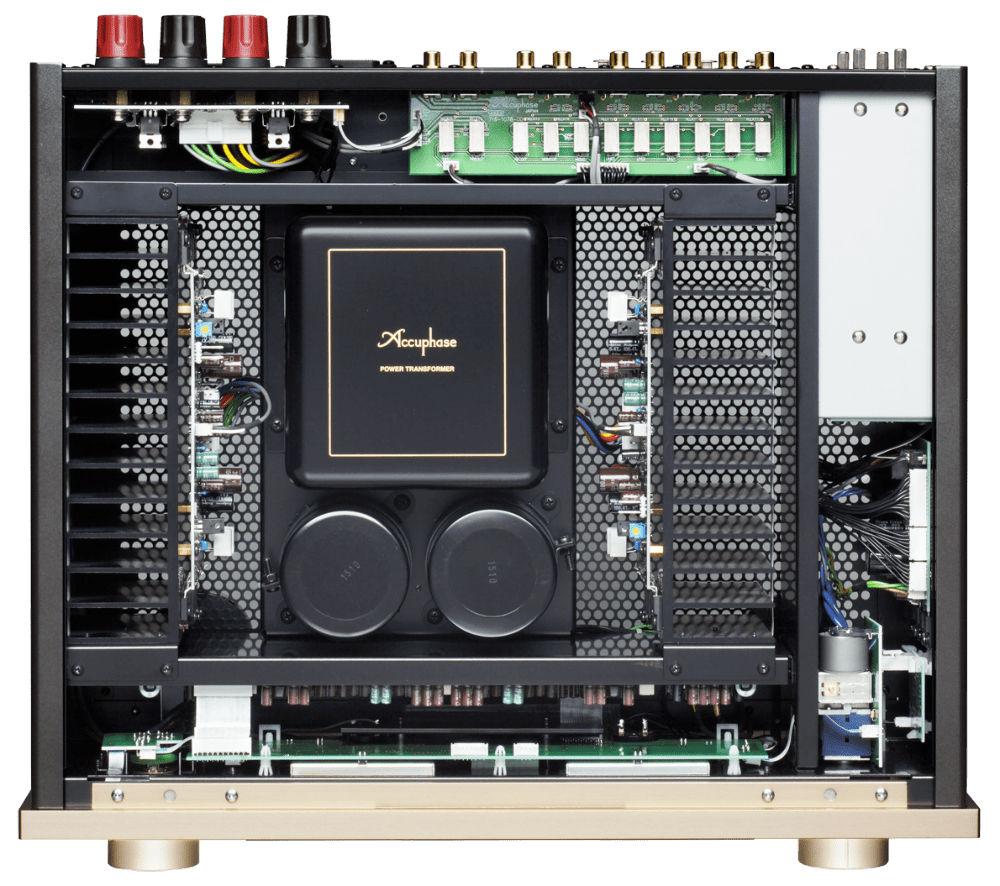 Chi tiết amply Accuphase E-370
