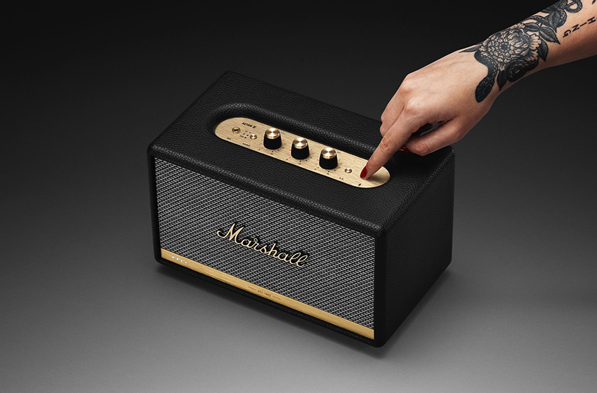 loa di động mini Marshall Acton II Voice With Google Assistant